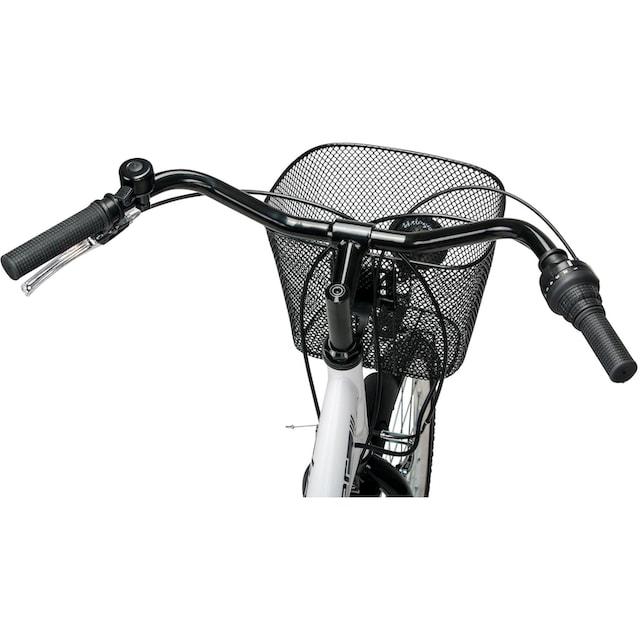 bergsteiger Cityrad »Florenz«, 7 Gang Shimano Tourney RD-TY21 Schaltwerk, Kettenschaltung