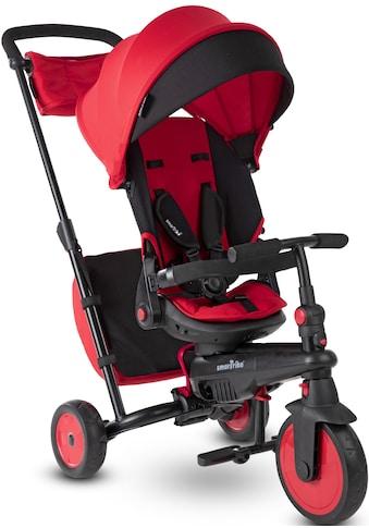 smarTrike® Dreirad »smarTfold STR7, Rot«, mit verstellbarem Sonnenschutzdach kaufen