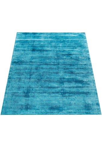 Paco Home Teppich »Glori 330«, rechteckig, 9 mm Höhe, Kurzflor, handgewebt, 100%... kaufen