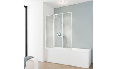 SCHULTE Badewannenaufsatz »Komfort«, 3 - tlg., gerahmt, BxH: 126,4 x 140 cm kaufen
