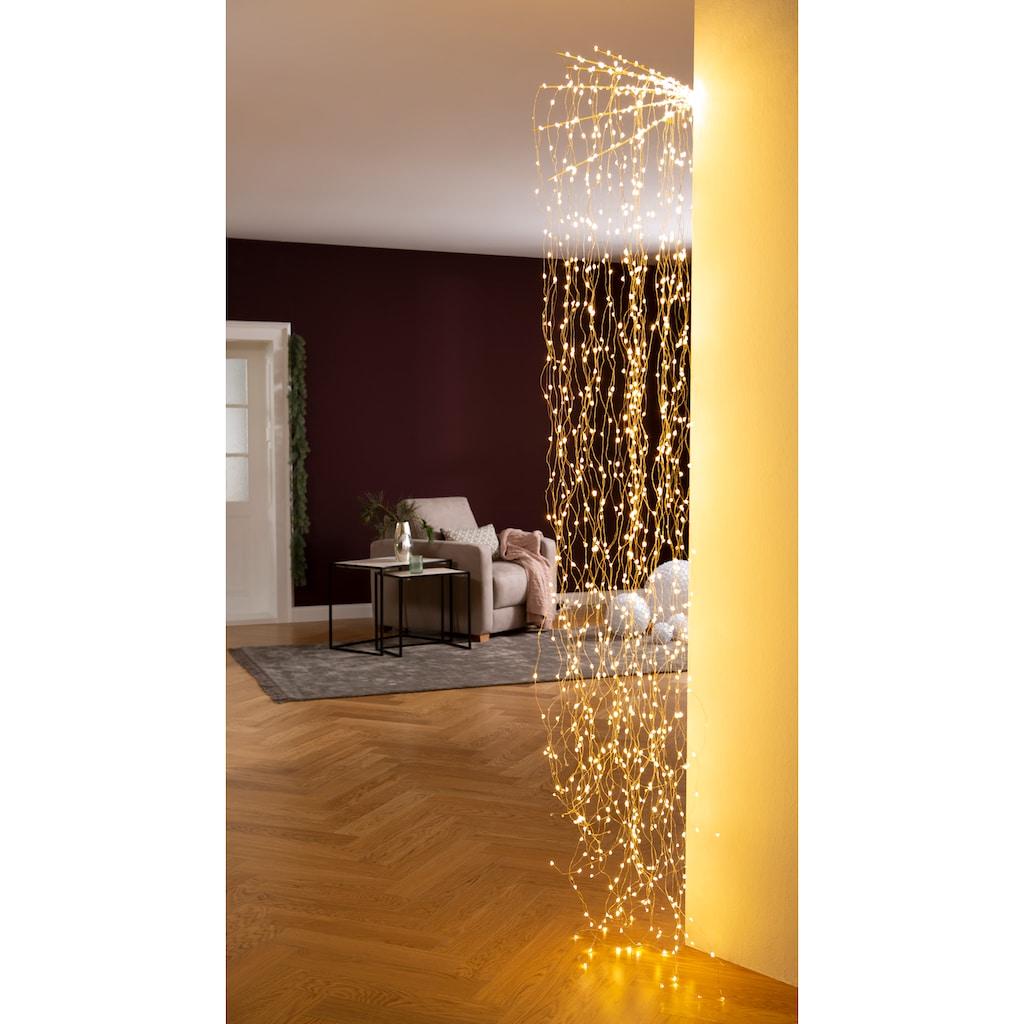 AM Design LED-Lichterkette »Fächer«, Länge ca. 220 cm