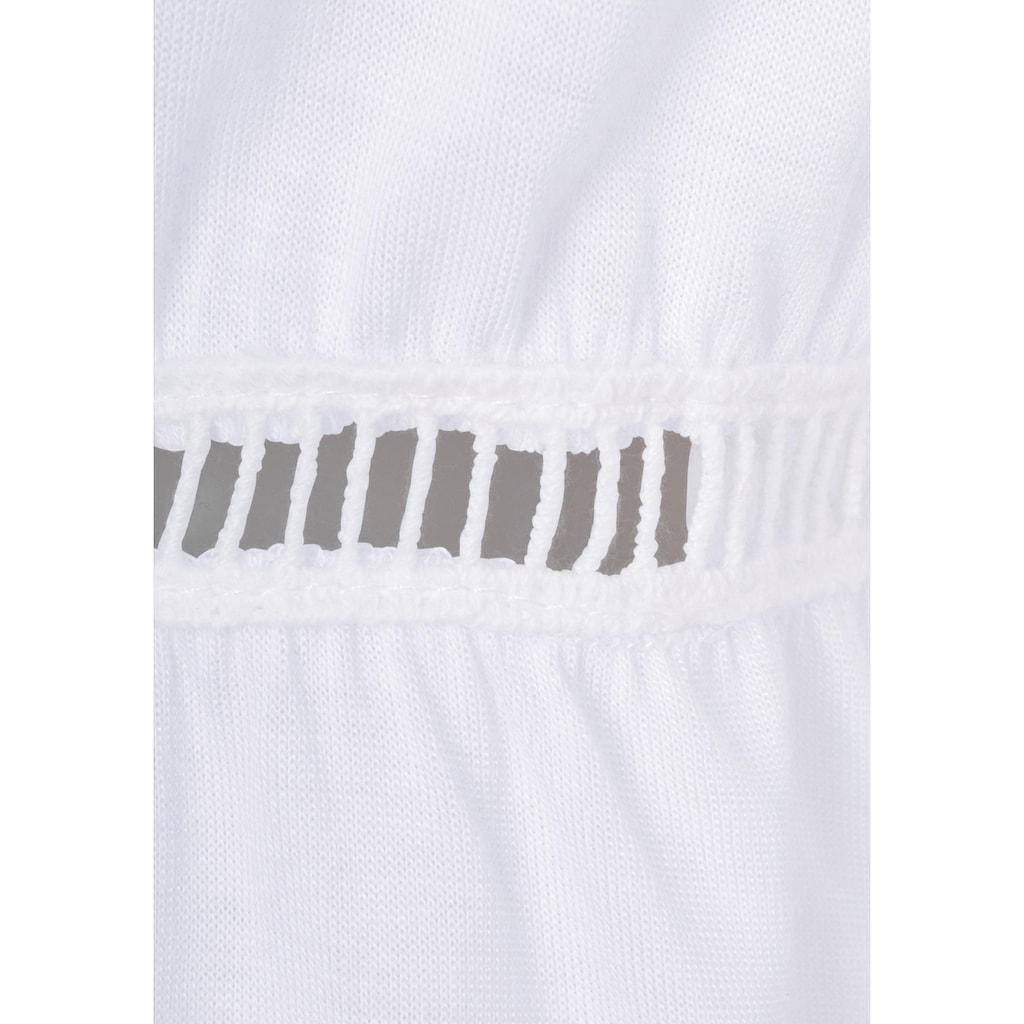 Buffalo Strandshirt, mit dezentem Frontdruck