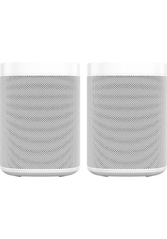 Sonos Smart Speaker »One Gen2«, mit integrierter Sprachsteuerung, 2-er Set kaufen
