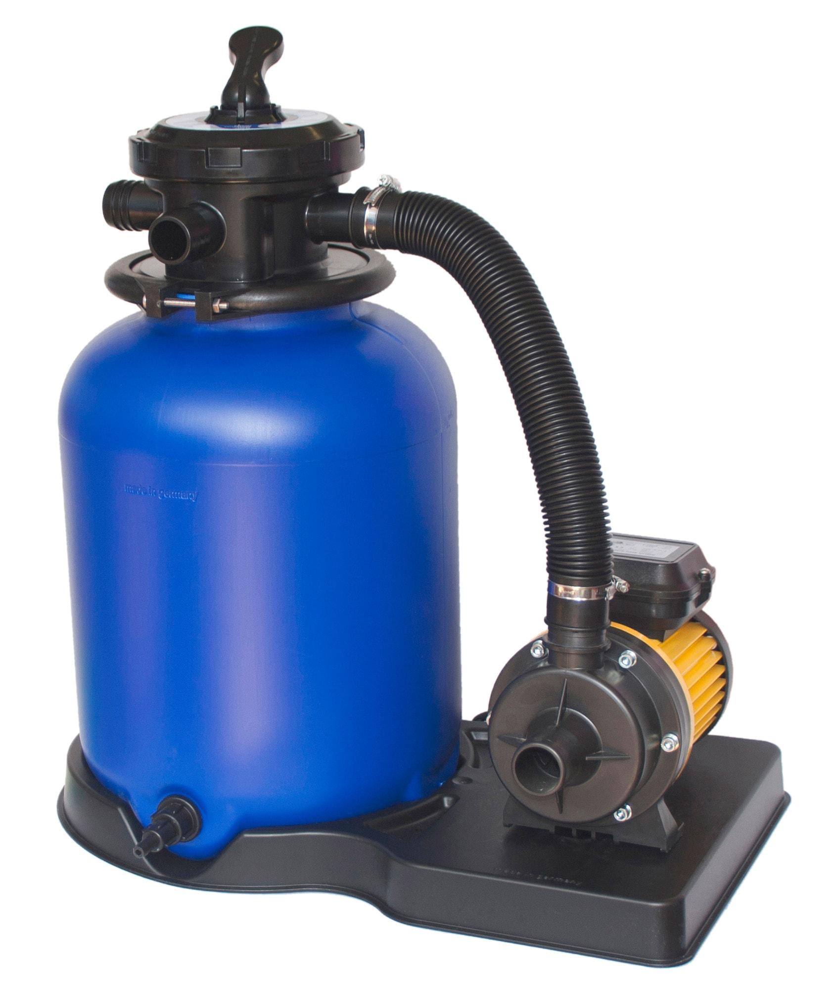 CLEAR POOL Sandfilteranlage »Sandfilteranlage CP2503, 3 m³/h« | Garten > Swimmingpools > Filteranlagen | Blau | Kunststoff | CLEAR POOL