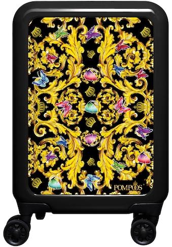 meinTrolley Hartschalen-Trolley »Butterfly Baroque, 55 cm«, 4 Rollen, POMPÖÖS by... kaufen
