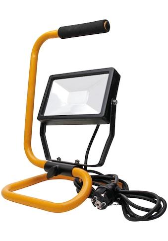 KOPP Flutlichtstrahler Tragbarer 30 Watt LED Baustrahler mit Standgestell kaufen