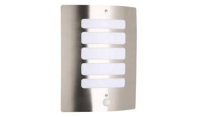 Brilliant Leuchten LED Außen-Wandleuchte, E27, Todd Außenwandleuchte Bewegungsmelder... kaufen