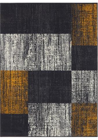 my home Teppich »John«, rechteckig, 8 mm Höhe, Kurzflor, Wohnzimmer kaufen