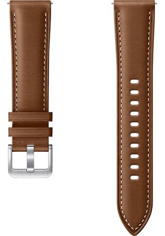 Samsung Uhrenarmband »Stitch Leather Band ET - SLR85 20 mm« kaufen