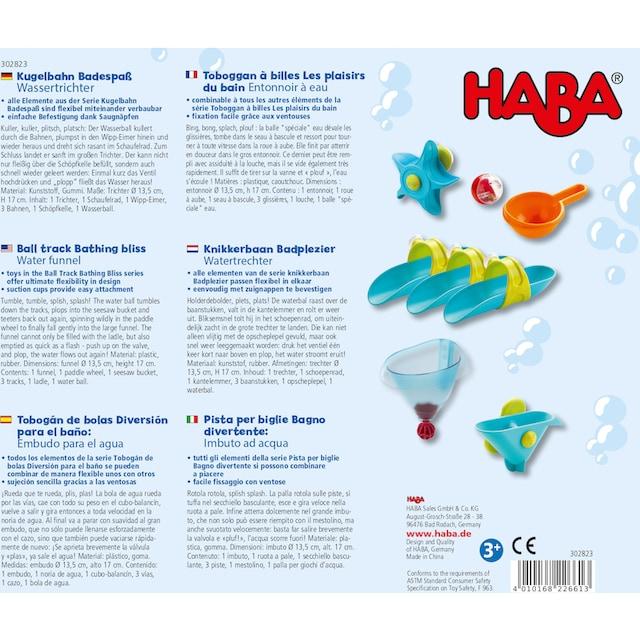 """Haba Badespielzeug """"Badespaß - Wassertrichter"""""""