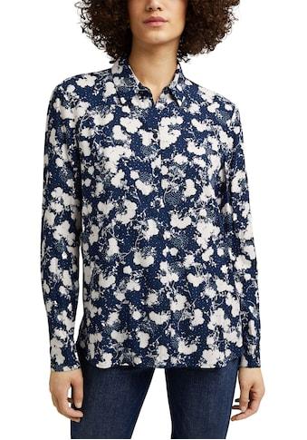 Esprit Hemdbluse, im schönen Print kaufen