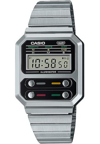 CASIO VINTAGE Chronograph »A100WE-1AEF« kaufen