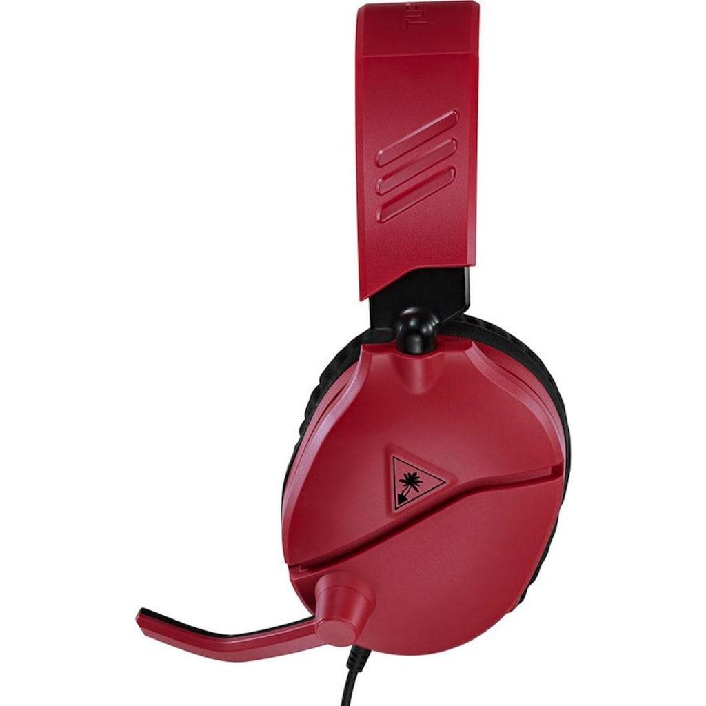 Turtle Beach Gaming-Headset »RECON 70 K für Nintendo Switch (Midnight Red)«