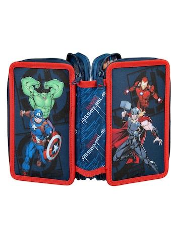 Scooli Schreibgeräteetui »Triple Decker, Avengers«, befüllt, inkl. Geodreieck kaufen