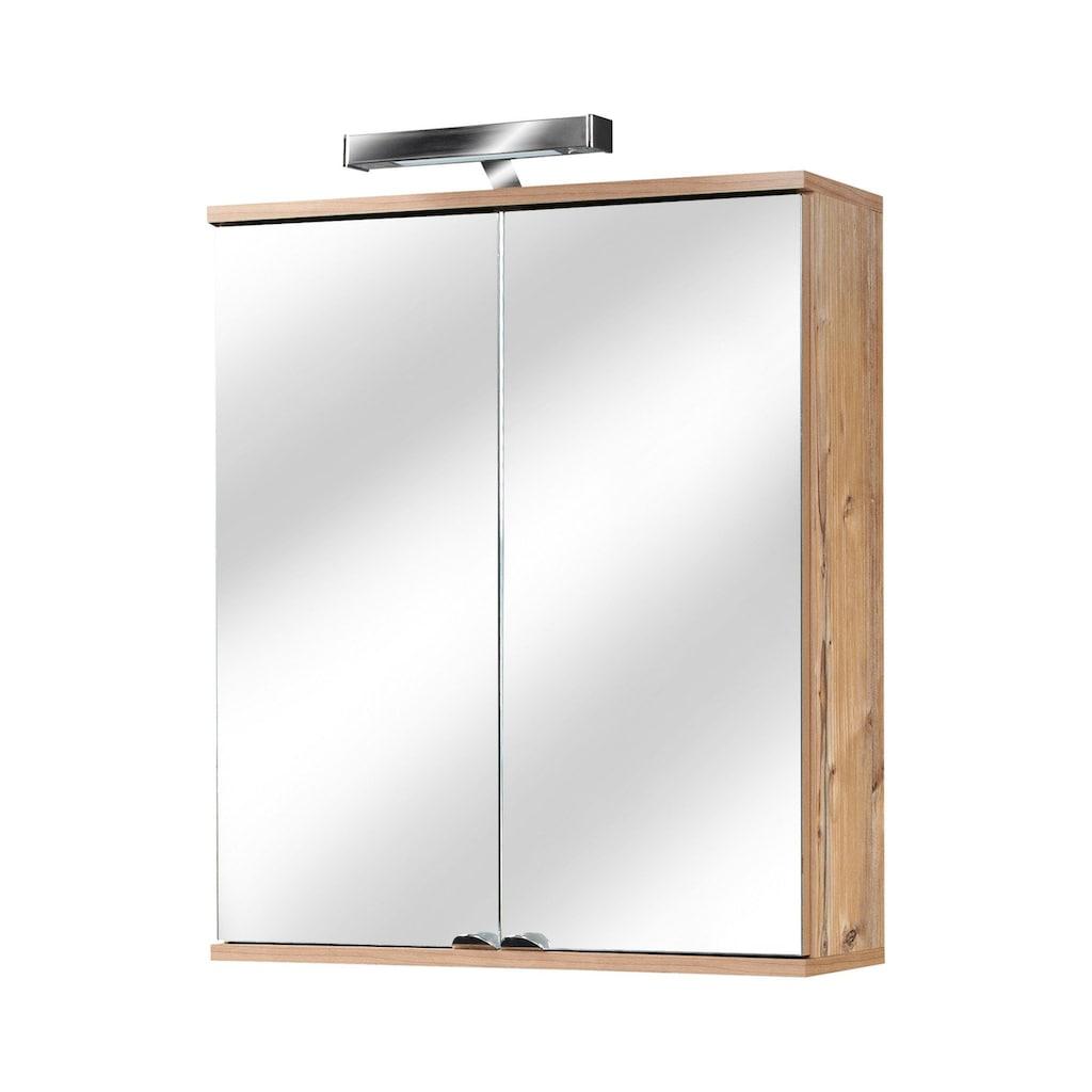 Schildmeyer Spiegelschrank »Isola«, mit LED-Beleuchtung, Breite 60 cm