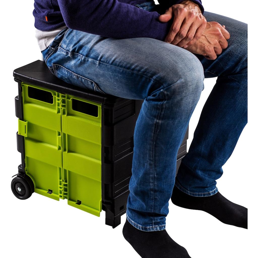 UPP Transporttrolley »Shopping Cart«, mit Deckel