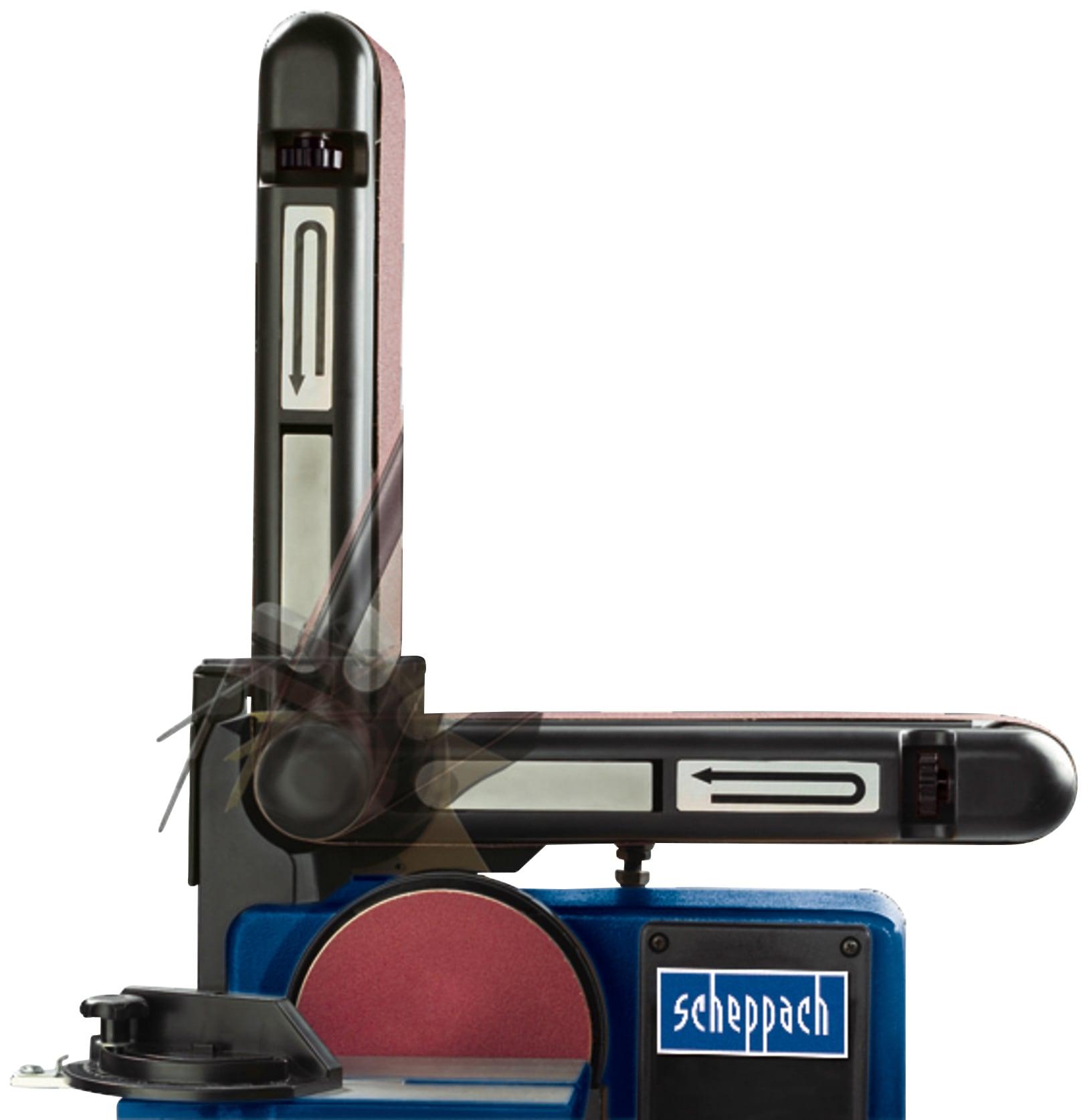 SCHEPPACH Band-Tellerschleifer »BTS800 «, 230-240V 50Hz - 150mm   Baumarkt > Werkzeug > Fräsen und Schleifer   Scheppach