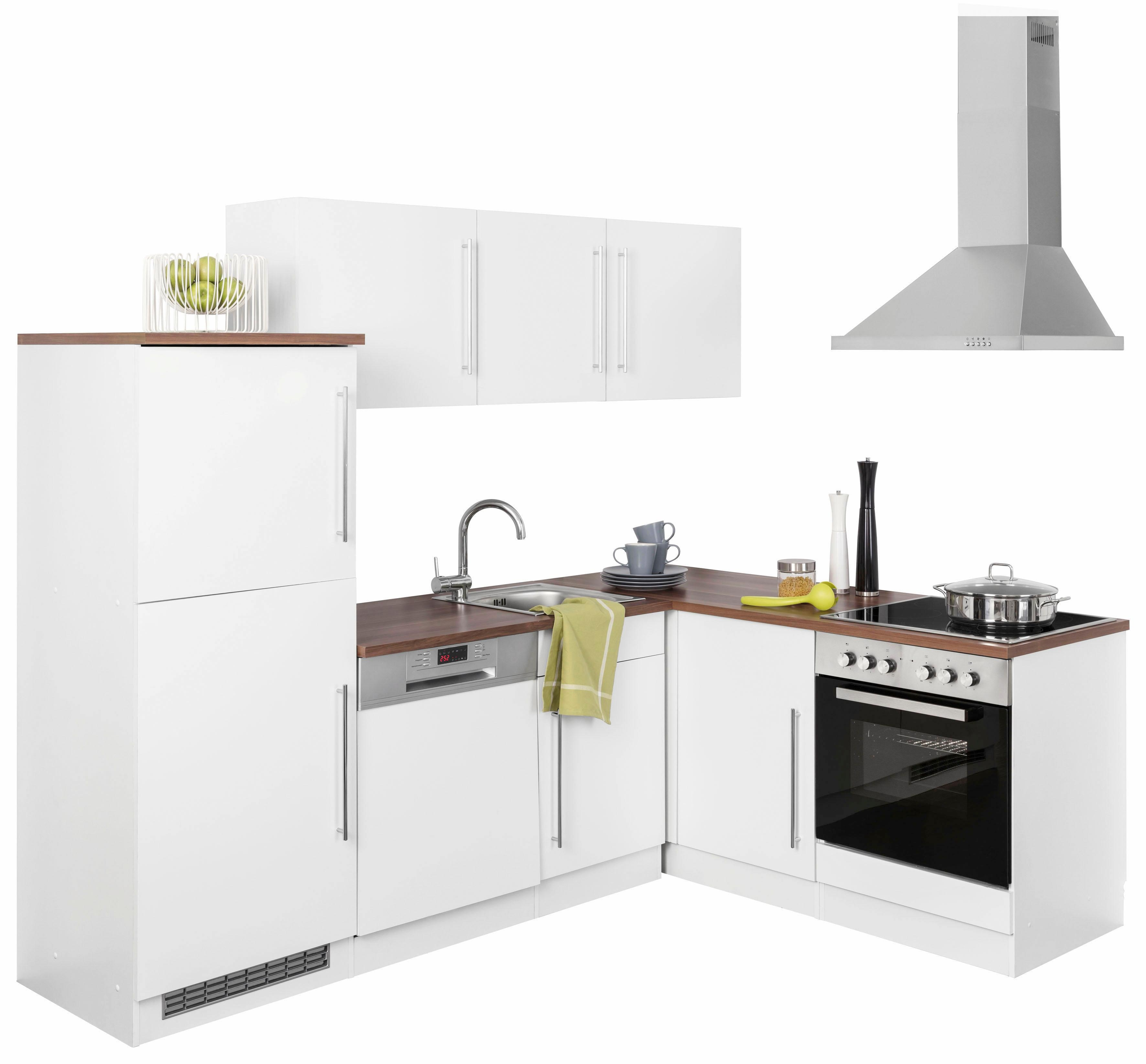 HELD MÖBEL Winkelküche »Samos« | Küche und Esszimmer > Küchen > Winkelküchen | HELD MÖBEL