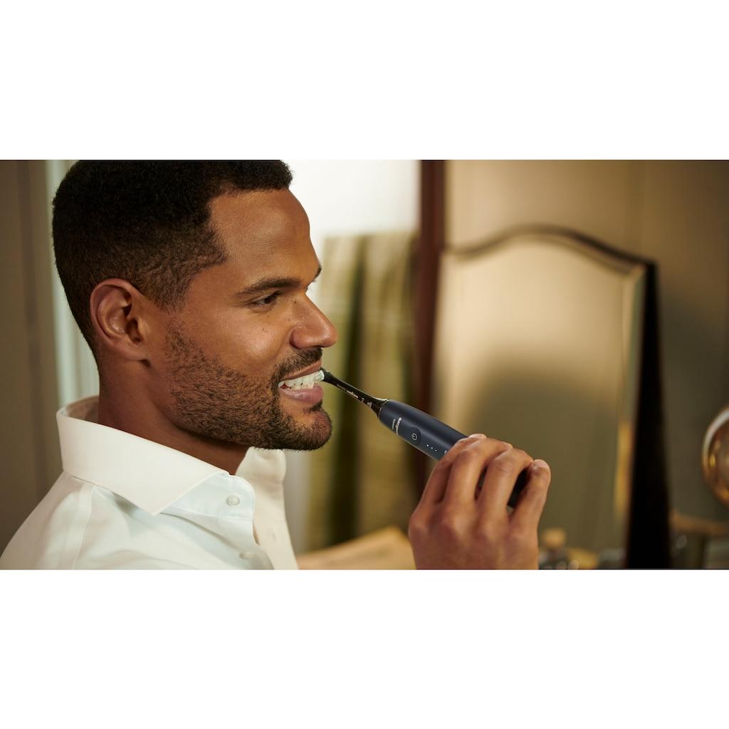 Philips Sonicare Schallzahnbürste »HX9992 Prestige 9900«, 1 St. Aufsteckbürsten, Leistungsstarke Zahnbürste, SenseIQ: Erkennung, Anpassung + Pflege, All-in-One-Bürstenkopf, KI-gesteuerte Sonicare App