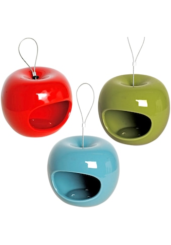 dobar Futterhaus »Apfel«, 3er Set, zum Hängen, Ø/H: je 14/12 cm kaufen