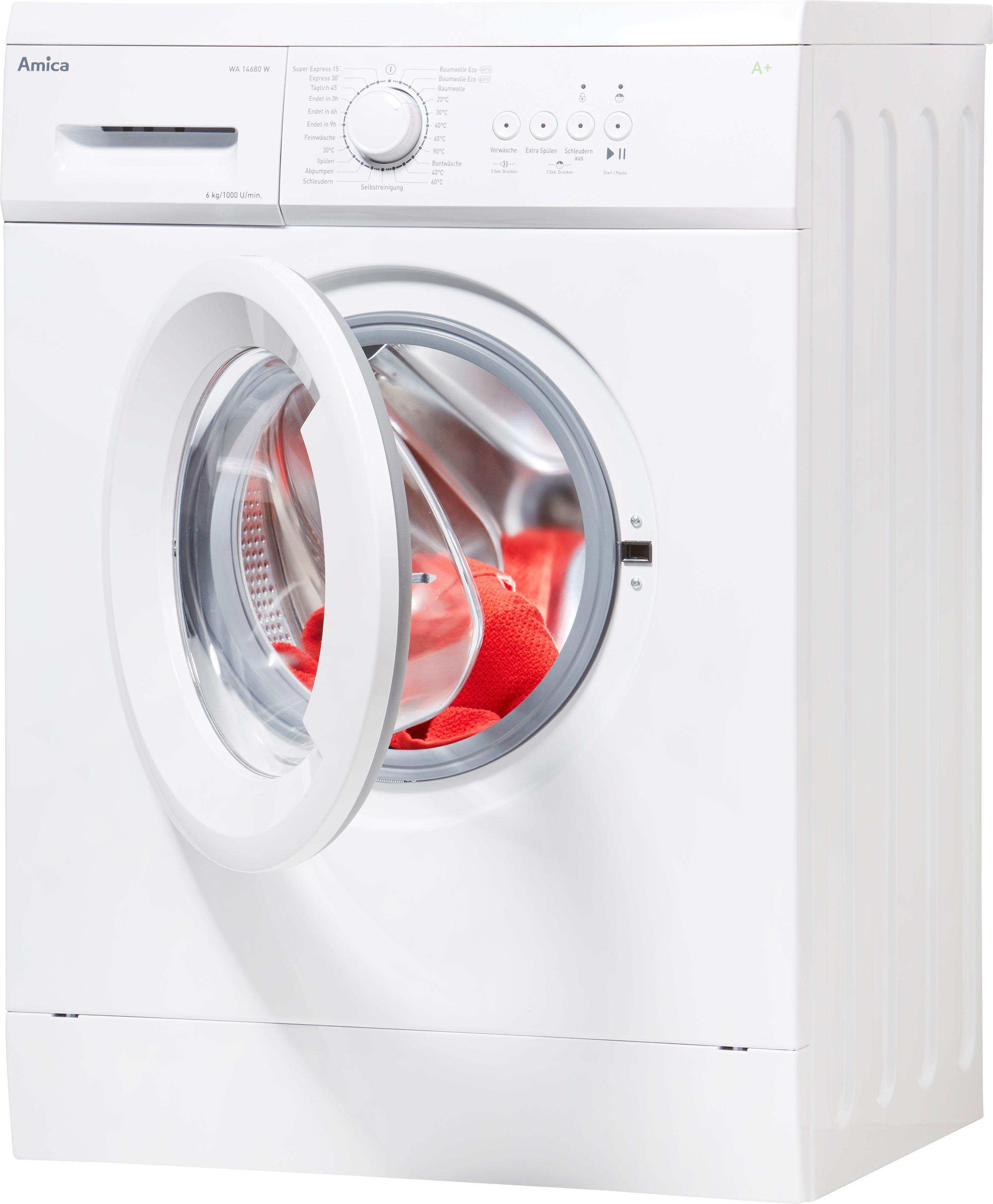 Amica Waschmaschine Slim Line WA 14680 W | Bad > Waschmaschinen und Trockner > Frontlader | Amica