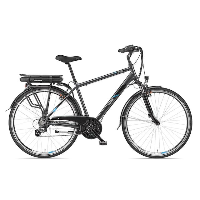 Telefunken E-Bike »Expedition XT481«, 21 Gang Shimano Altus Schaltwerk, Heckmotor 250 W