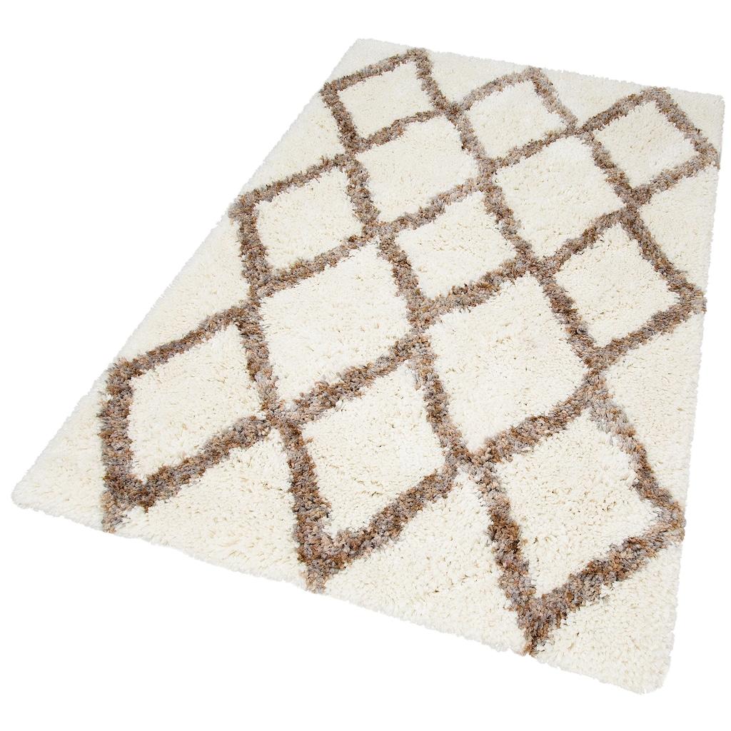 my home Hochflor-Teppich »Sonata«, rechteckig, 40 mm Höhe, Besonders weich durch Microfaser