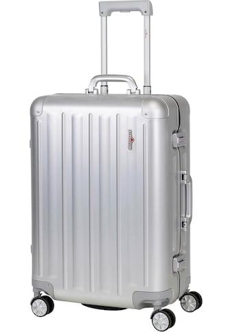 """Hardware Hartschalen - Trolley """"PROFILE PLUS ALU M, silver"""", 4 Rollen kaufen"""