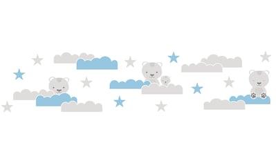 Bordüre »Dreamy Bears«, für Baby -  und Kinderzimmer, selbstklebend, PVC - frei kaufen