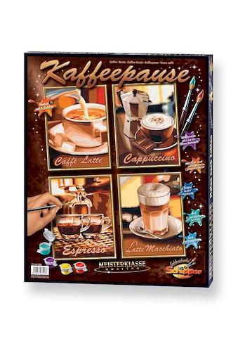 Schipper Malen nach Zahlen »Quattro - Kaffeepause«, Made in Germany kaufen