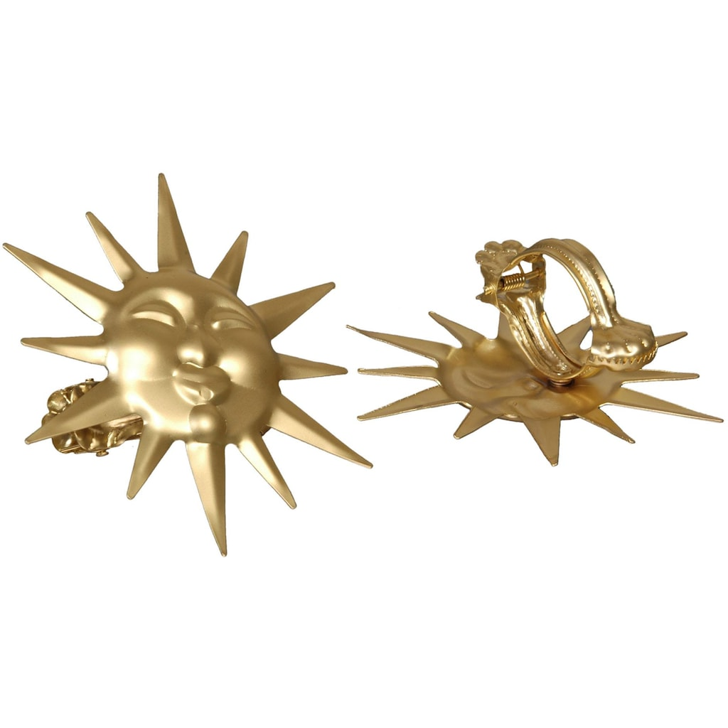 Liedeco Dekoklammer »Sonne«, für Gardinen, Vorhänge