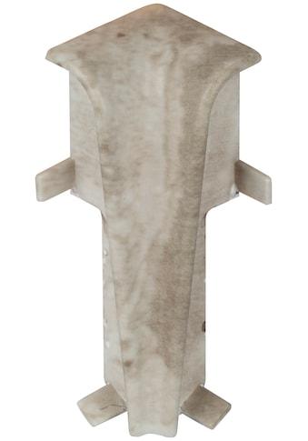 EGGER Innenecke »Stein weiss«, Inneneck - Element für 6cm EGGER Sockelleiste, 2 Stk. kaufen