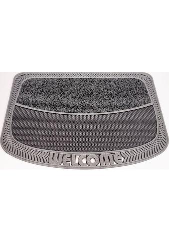 CarFashion Fußmatte »TC Clean Weaves«, rechteckig, 8 mm Höhe, Schmutzfangmatte, mit... kaufen