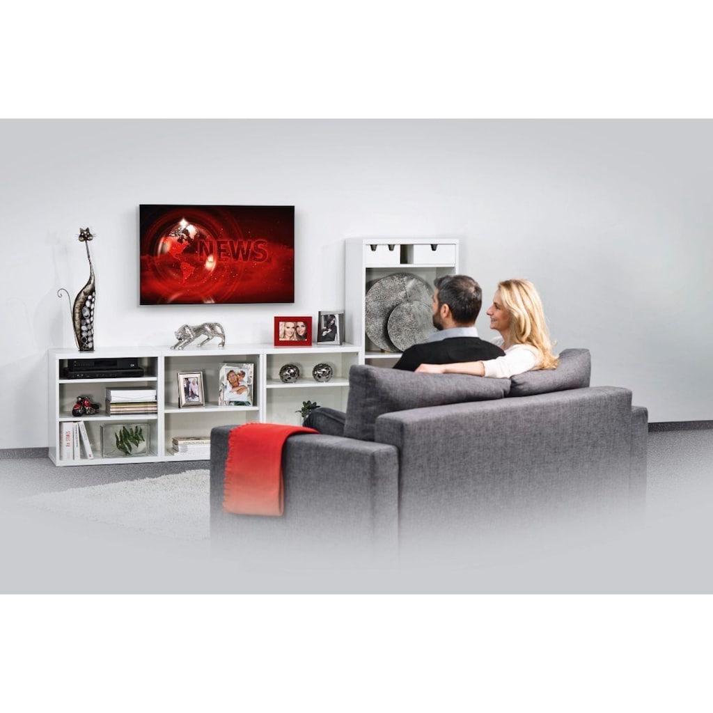 Hama TV Wandhalter, flach, bis 102cm (40 Zoll), 94cm (37 Zoll)