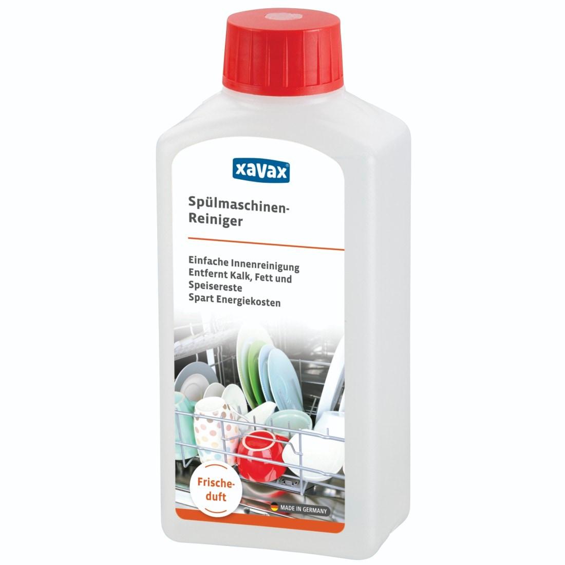 Xavax Spülmaschinenreiniger mit Frischeduft, 250 ml, Spülmaschine »Reiniger Maschinenpfleger« | Küche und Esszimmer > Küchenelektrogeräte > Spülmaschinen | Bunt | XAVAX