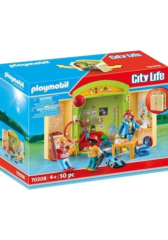 "Playmobil® Konstruktions - Spielset ""Im Kindergarten (70308), City Life"", Kunststoff, (50 - tlg.) kaufen"