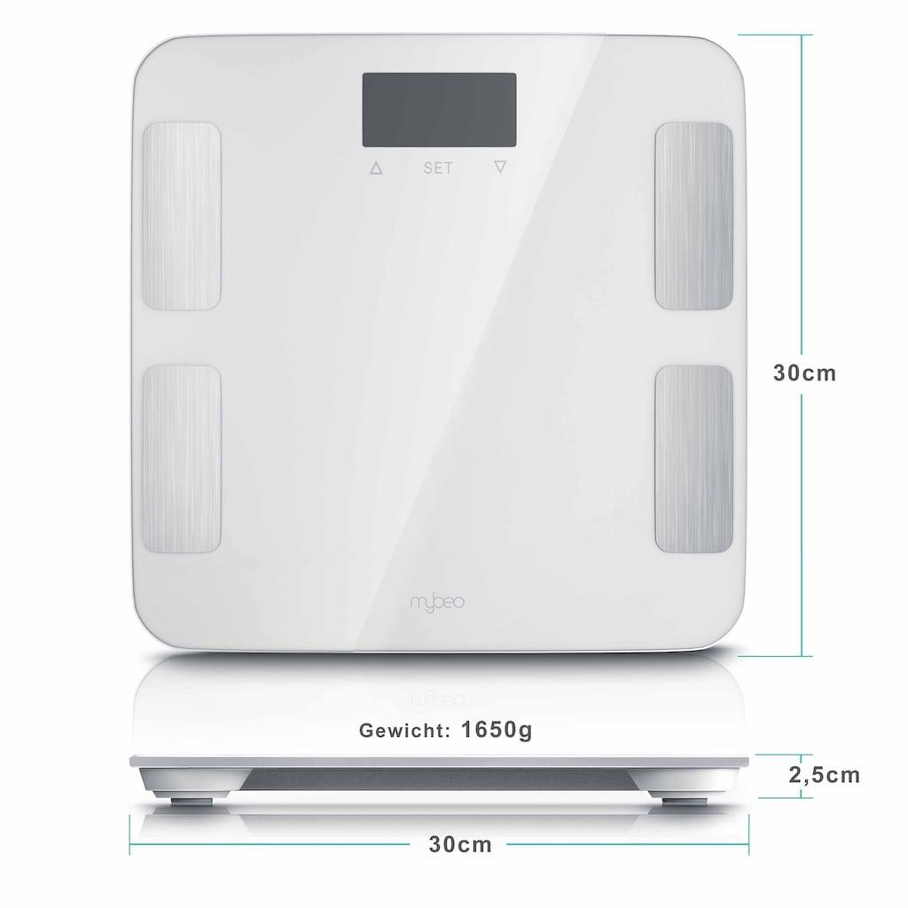 MyBeo Digitale Diagnosewaage mit LCD-Display »7 Indikatoren / max. 10 individuelle Profile«