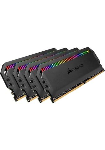 Corsair »DOMINATOR RGB 32 GB (4 x 8 GB) DDR4 DRAM 3.000 MHz C15« PC - Arbeitsspeicher kaufen