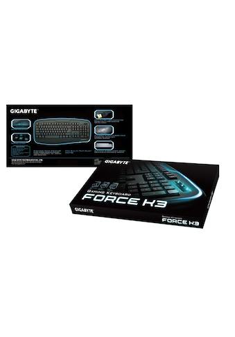 Gigabyte Gaming-Tastatur »schwarz, USB«, (Ziffernblock) kaufen