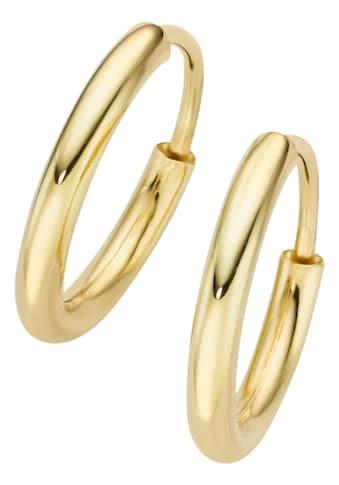 Firetti Paar Creolen »vergoldet, klassisch, basic, Made in Germany« kaufen