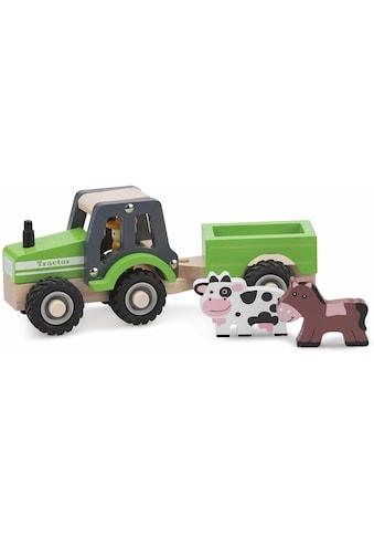 """New Classic Toys® Spielzeug - Traktor """"Holztraktor"""" (Set) kaufen"""