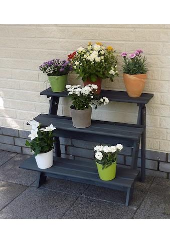 promadino Blumenständer »Blummentreppe Anja«, BxTxH: 78x55x62 cm kaufen