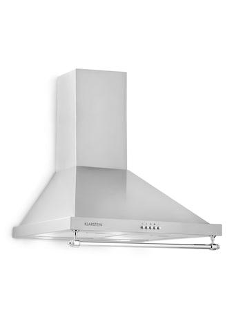 Klarstein Dunstabzugshaube 610m³/h 165W 2x1,5W LED Reling Abluft Umluft kaufen