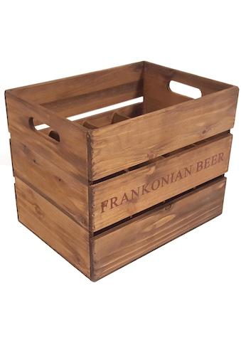 Franz Müller Flechtwaren Holzkiste kaufen