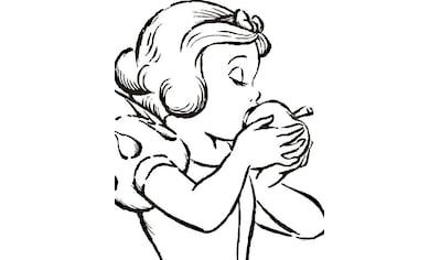 KOMAR XXL Poster »Snow White Apple Bite  -  white« kaufen