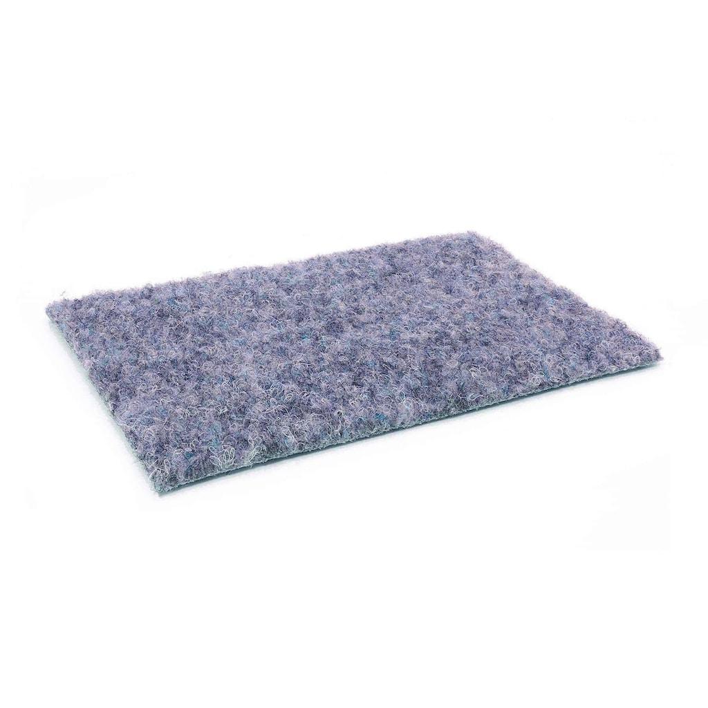 Primaflor-Ideen in Textil Kunstrasen »GREEN«, rechteckig, 7,5 mm Höhe, Rasenteppich, graublau, mit Noppen, strapazierfähig, witterungsbeständig, In- und Outdoor geeignet