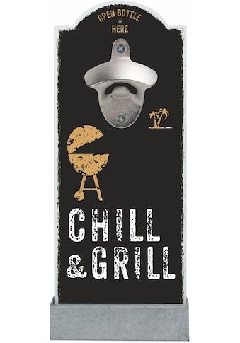 Contento Flaschenöffner »Chill & Grill«, für die Wand kaufen