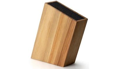 Continenta Messerblock, Eichenholz, mit flexiblem Einsatz kaufen