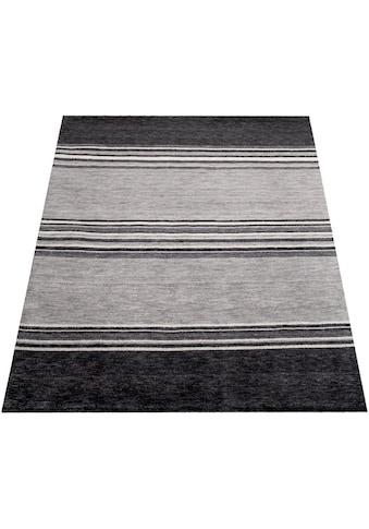 Paco Home Teppich »Gabbeh 307«, rechteckig, 14 mm Höhe, handgefertigter Kurzflor, Gabbeh-Stil, Wohnzimmer kaufen