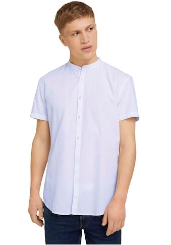 TOM TAILOR Denim Kurzarmhemd, mit einer Knopfleiste kaufen